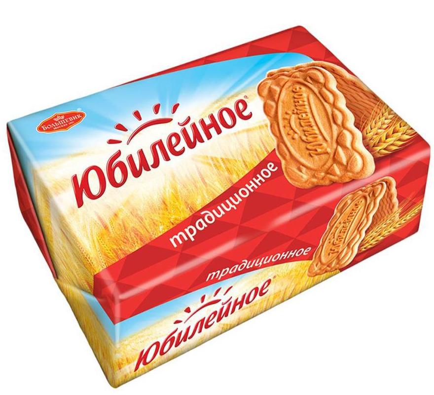 Печенье Юбилейное Традиционное, 134 г