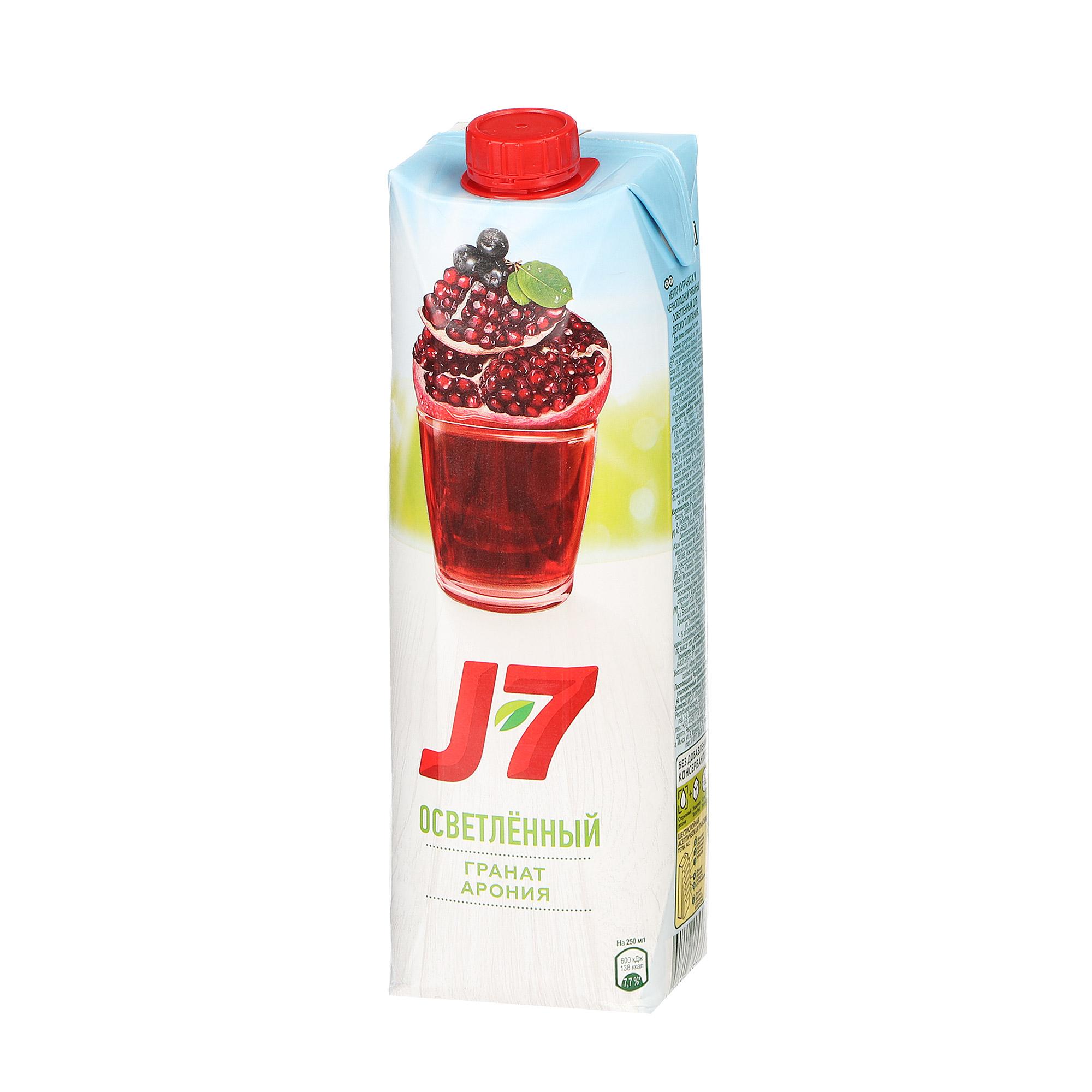 barinoff сок гранатовый 0 25 л Нектар J7 гранатовый розовый 0,97 л