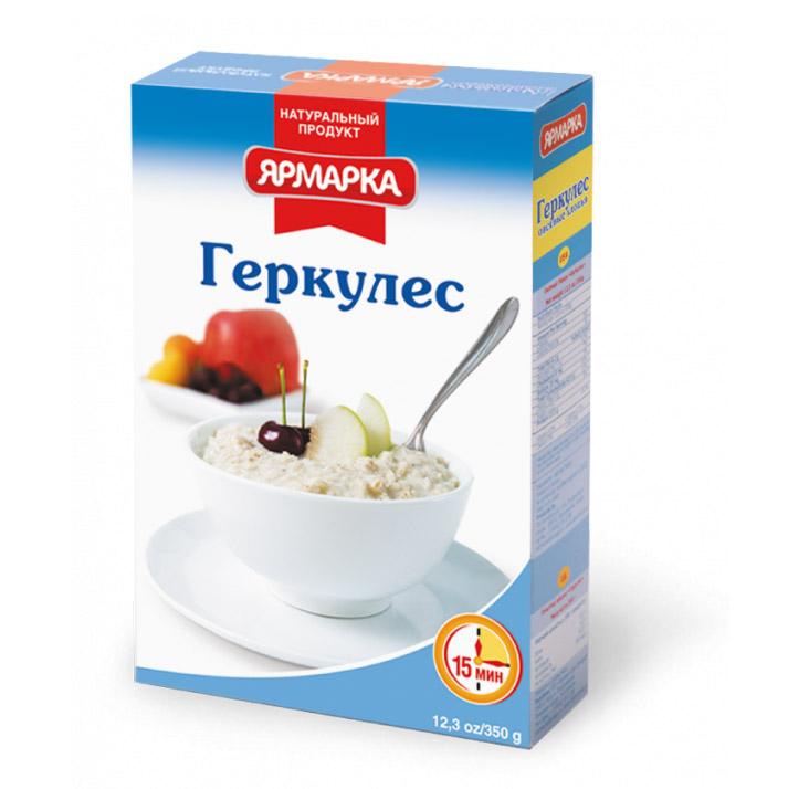 Хлопья овсяные Ярмарка Геркулес 350 г