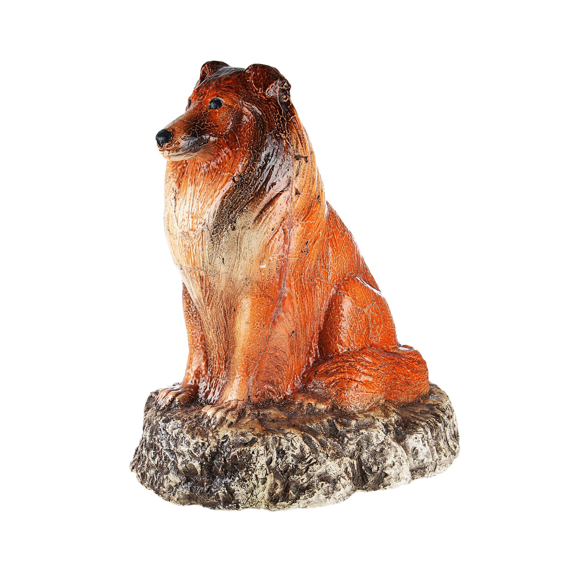 Собака Сократ Колли цветная 65х52см