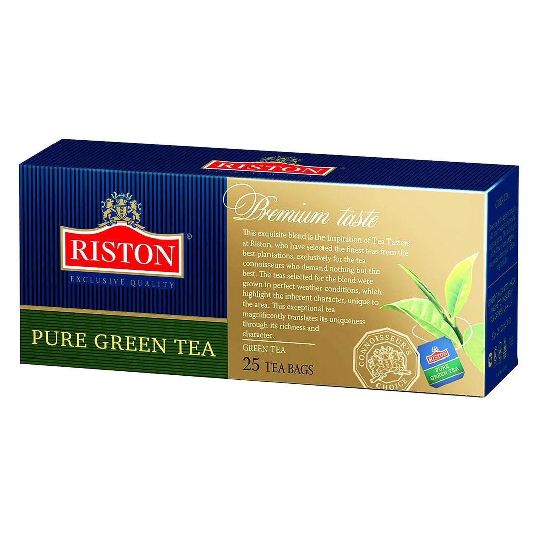 Чай зеленый Riston Pure Green Tea 25 пакетиков