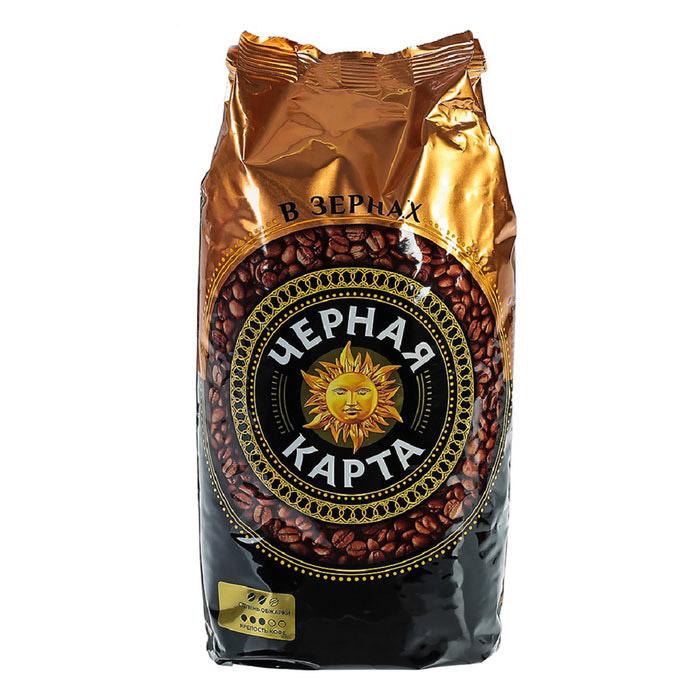 Кофе в зернах Черная карта 1кг