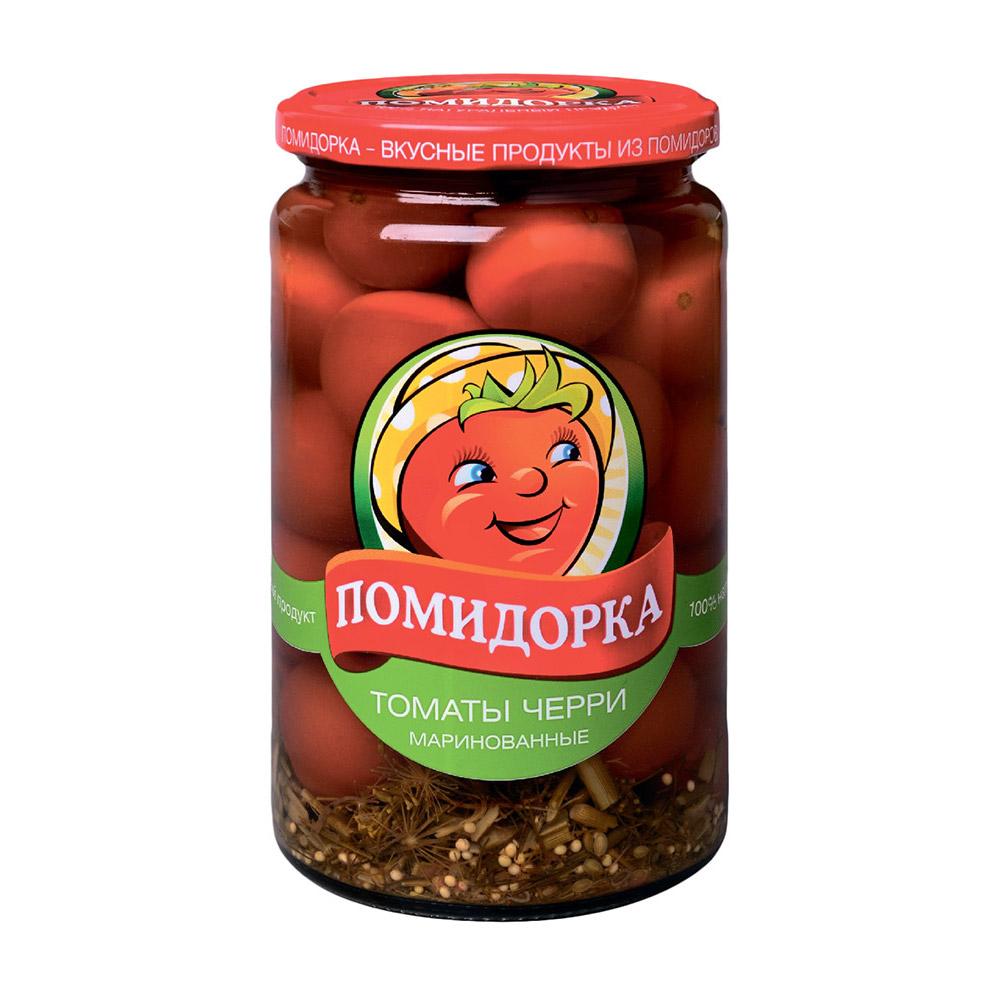 Фото - Томаты черри Помидорка 680 г лечо сладкий перец в томатном соусе помидорка 680 г