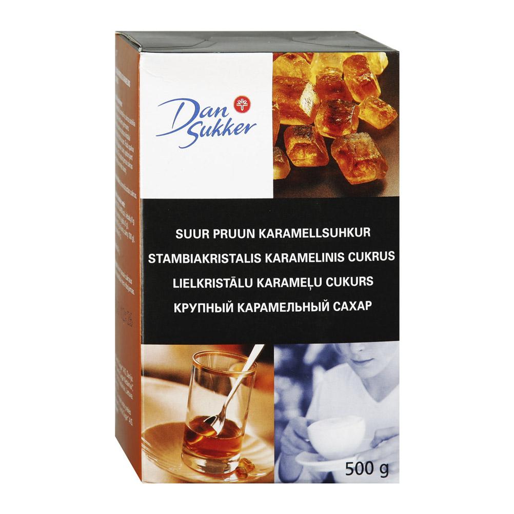 Фото - Сахар темный DanSukker крупный карамельный 500 г сахар темный dansukker кусковой 500 г