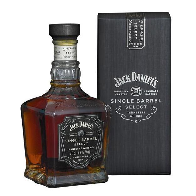 Купить Виски Jack Daniels Single Barrel 6 лет 750 мл, Купажированный, США, Виски благородного темно-янтарного цвета.