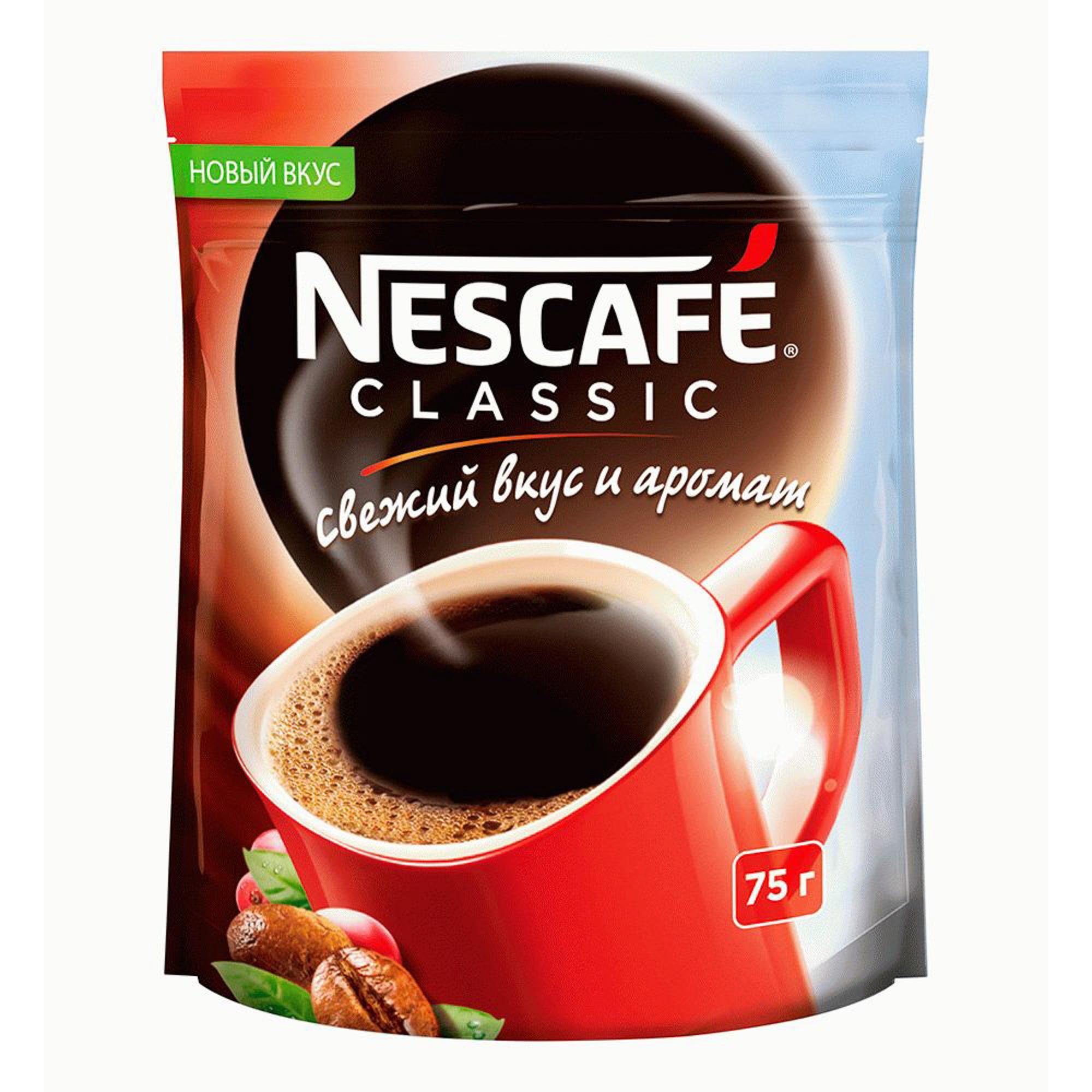 Кофе растворимый Nescafe Classic 75 г фото