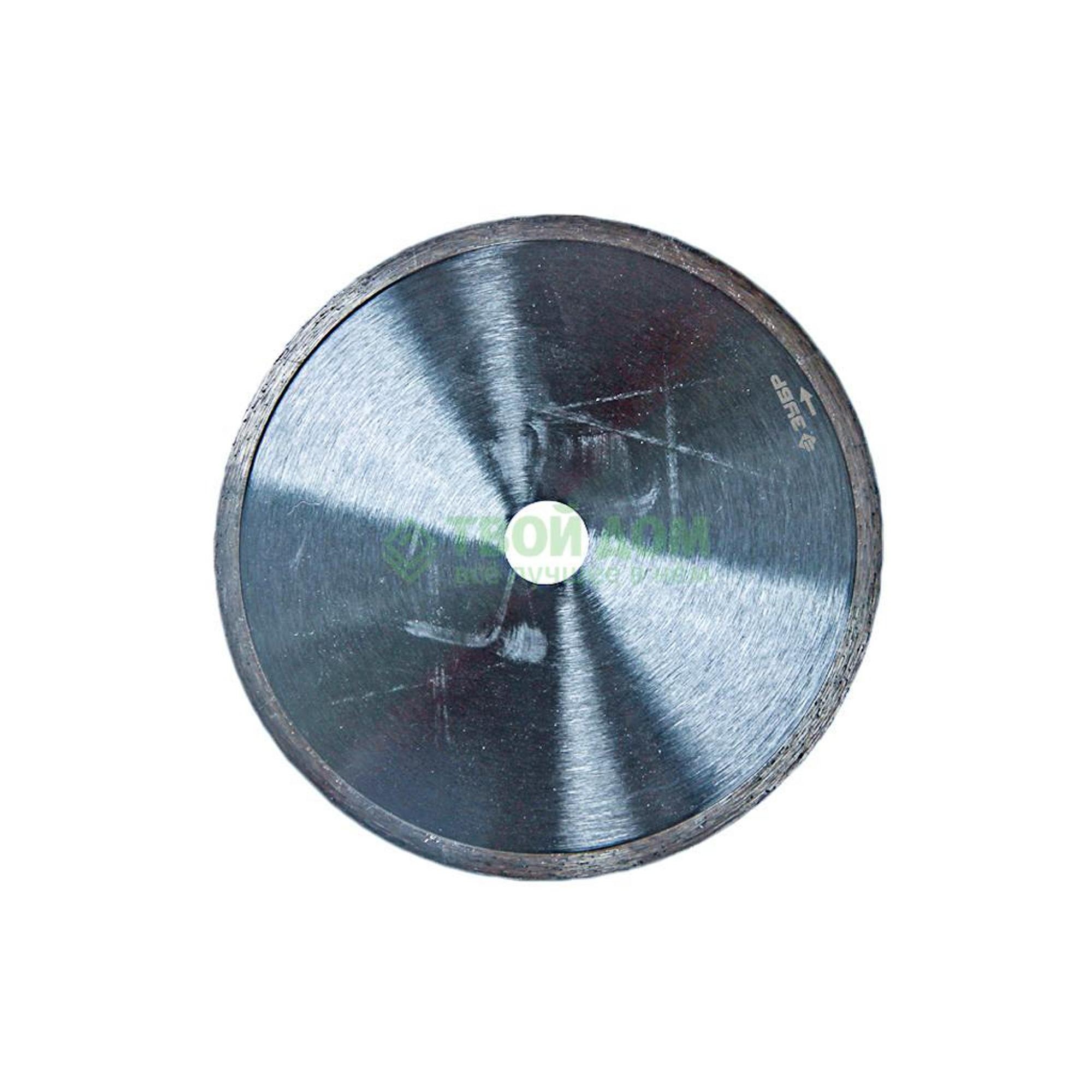 Алмазный отрезной круг Зубр Диск алмазный 36654-180