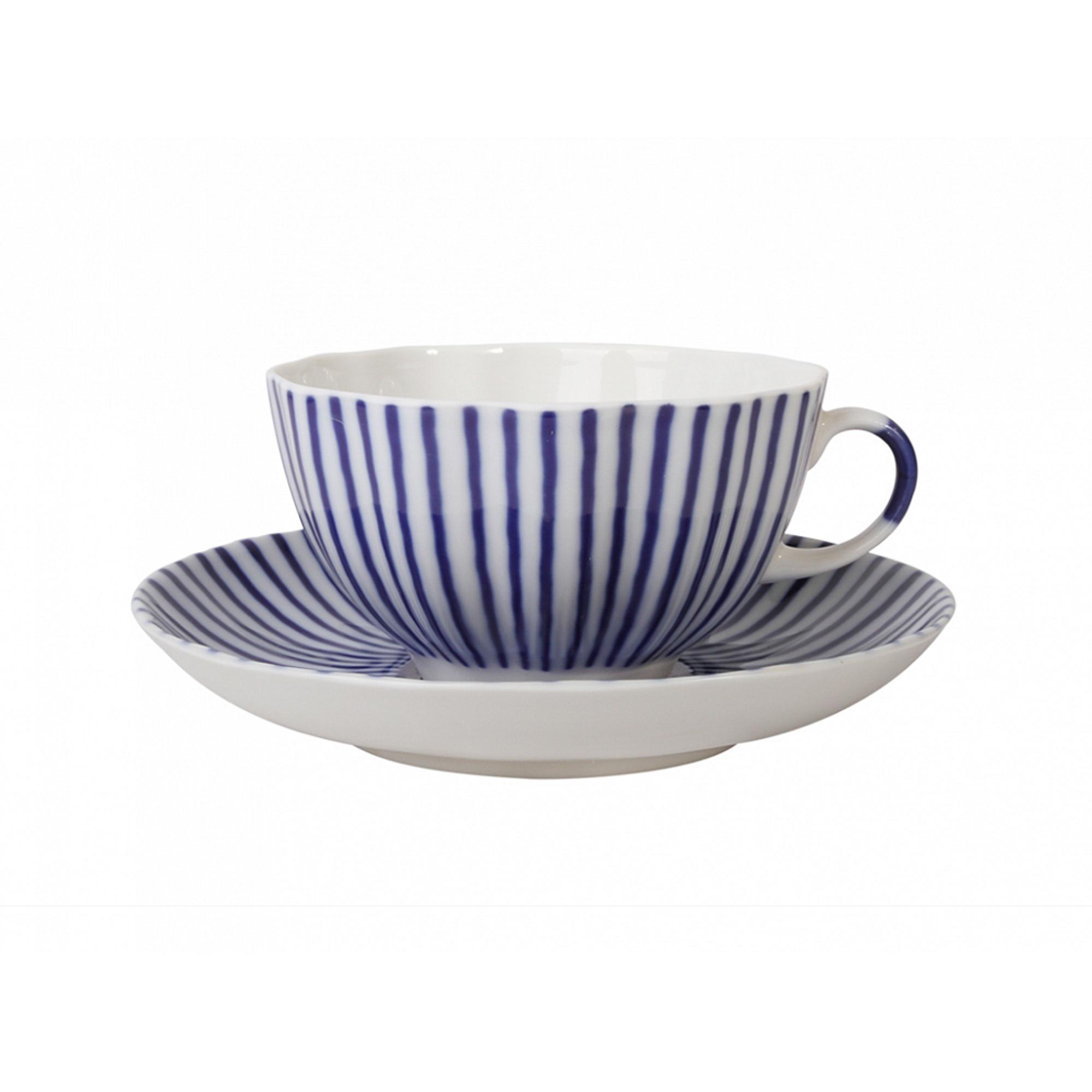 Чашка с блюдцем чайная, форма тюльпан - французик Лфз фото