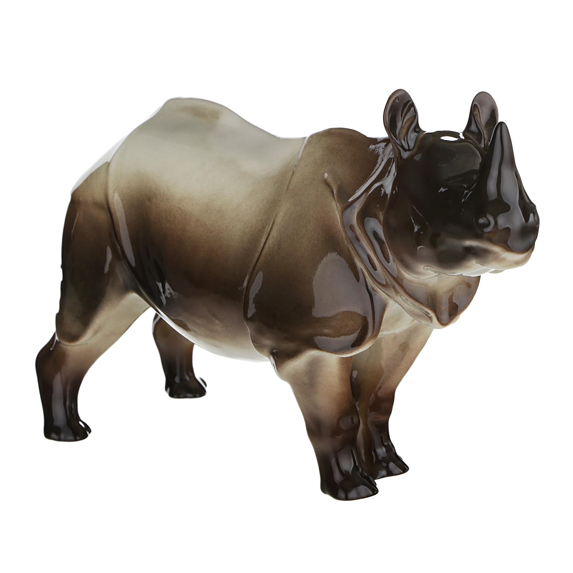 Скульптура ЛФЗ - носорог скульптура лфз борзая