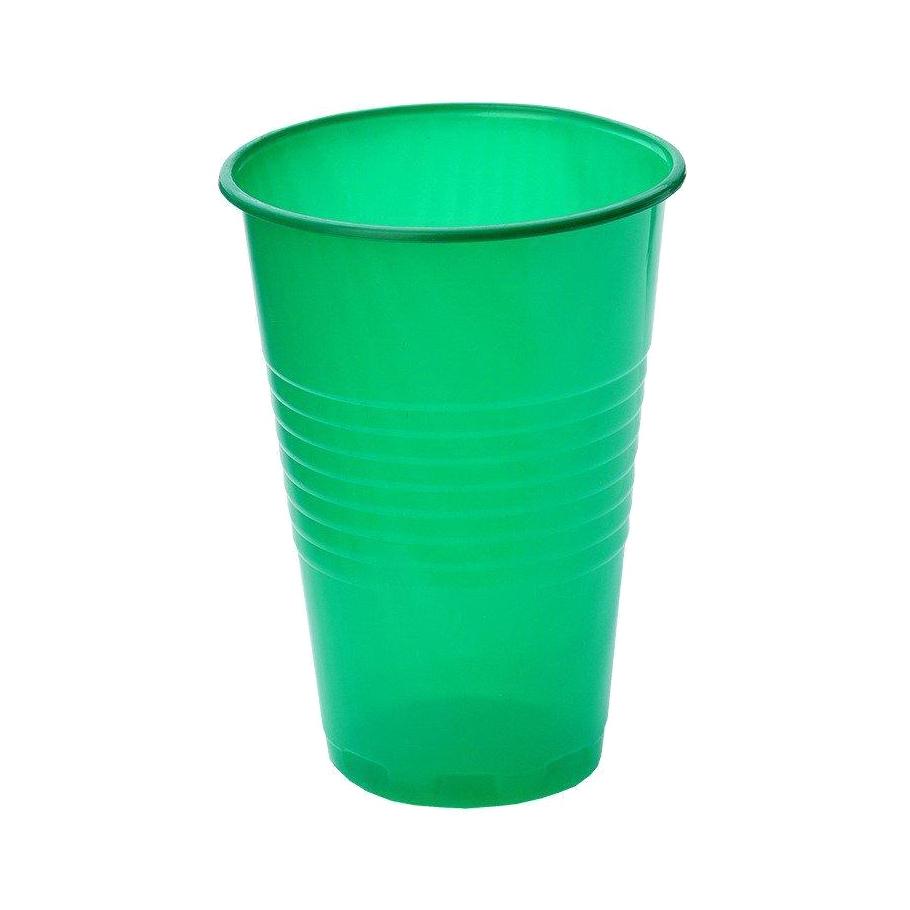 Набор стаканов Мистерия зеленые 200 мл 12 шт