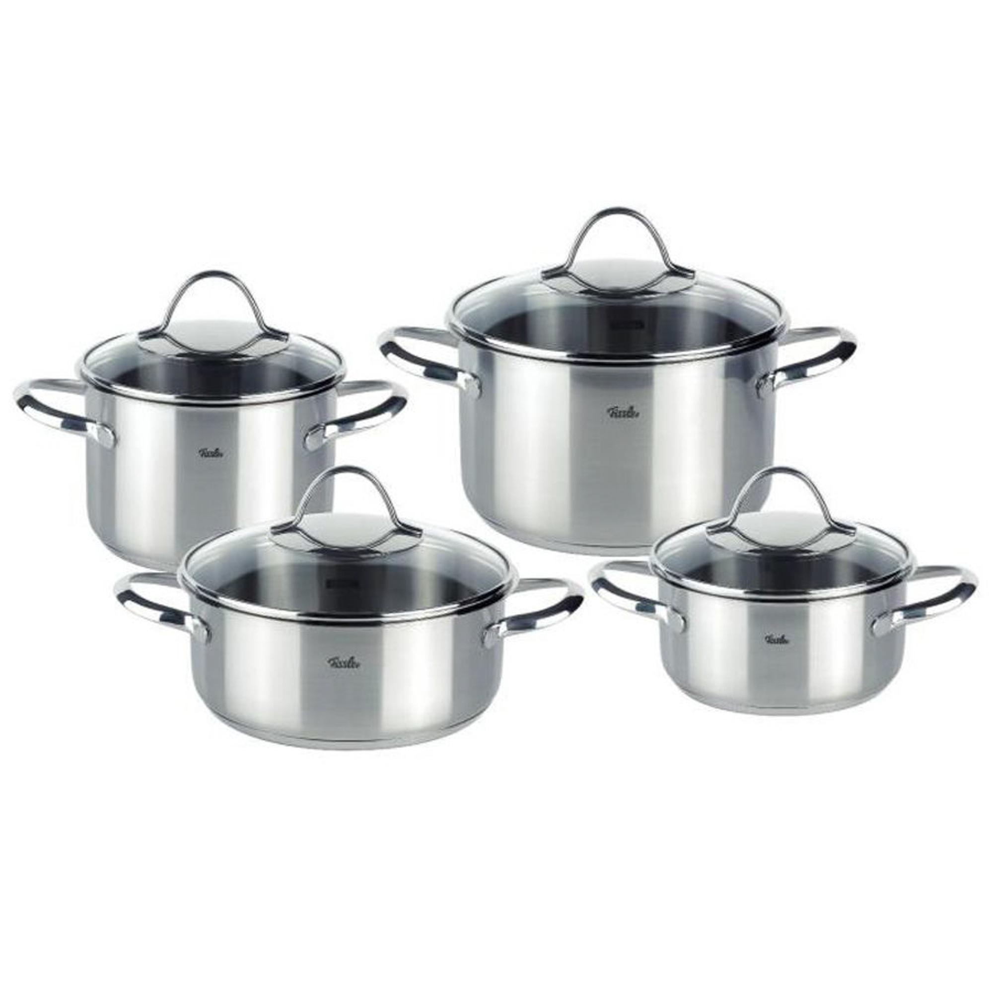 Купить Набор посуды Fissler Paris 8 предметов, Германия, серебряный