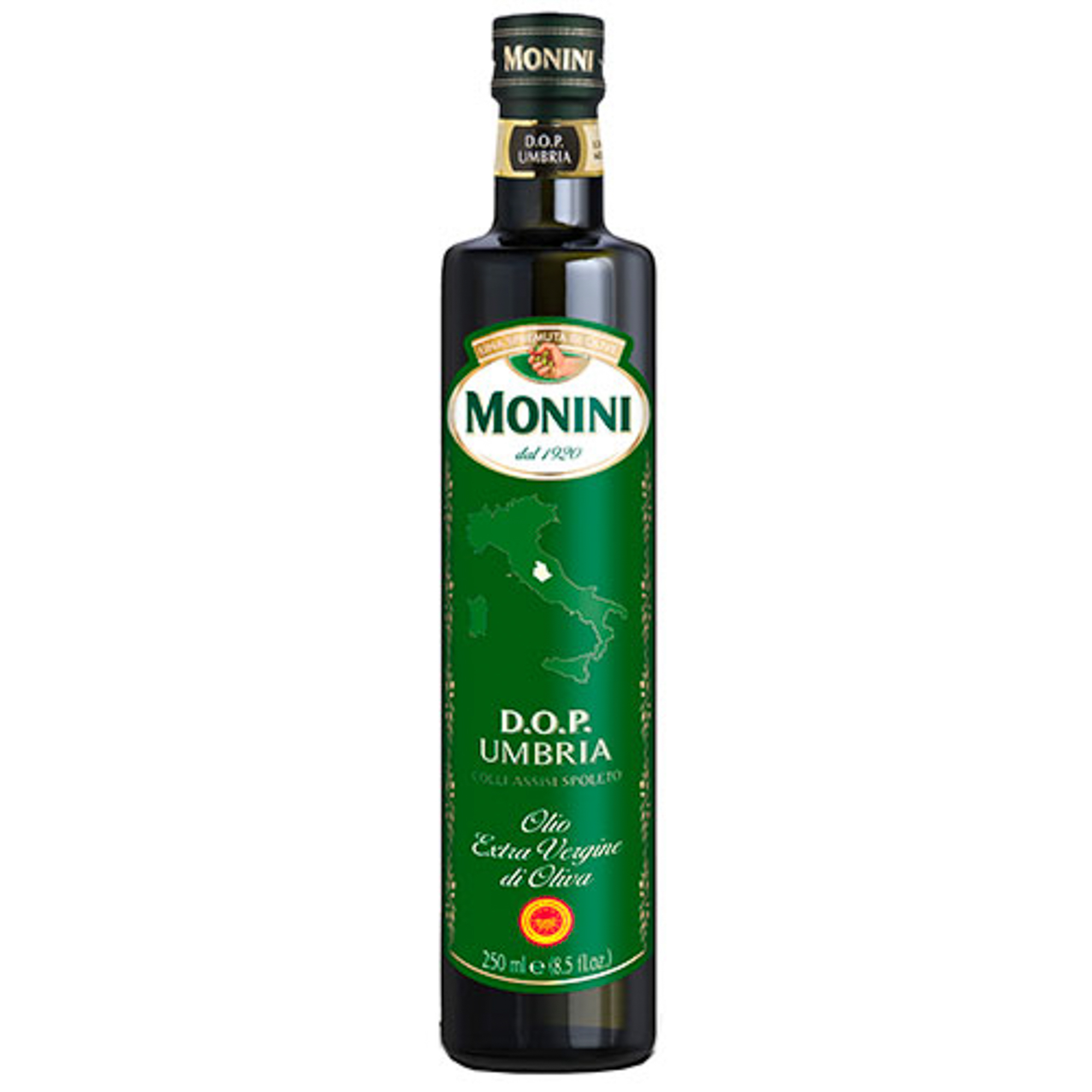 Масло оливковое Monini D.O.P. Umbria Extra Virgin 250 мл korvel оливковое масло extra virgin греция данае 250 мл