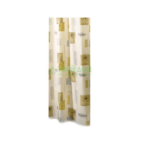 Штора для ванной комнаты Bacchetta Contrasti 180X200см (40207521400/207521400) штора для ванной bacchetta papillons