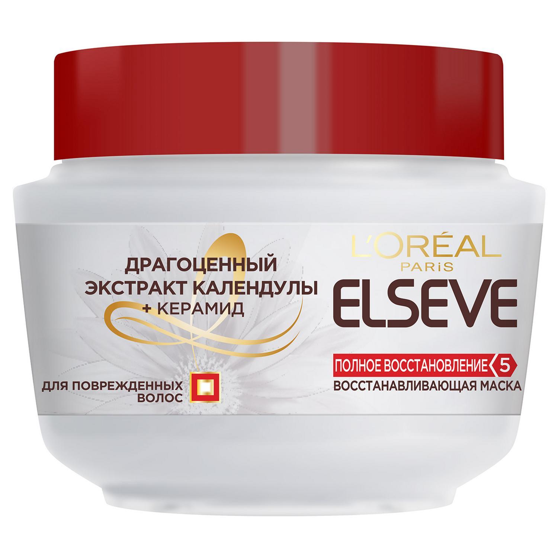 Маска для волос L'Oreal Paris Elseve Полное восстановление 5 300 мл набор маска для лица магия глины маска для волос elseve l oreal paris