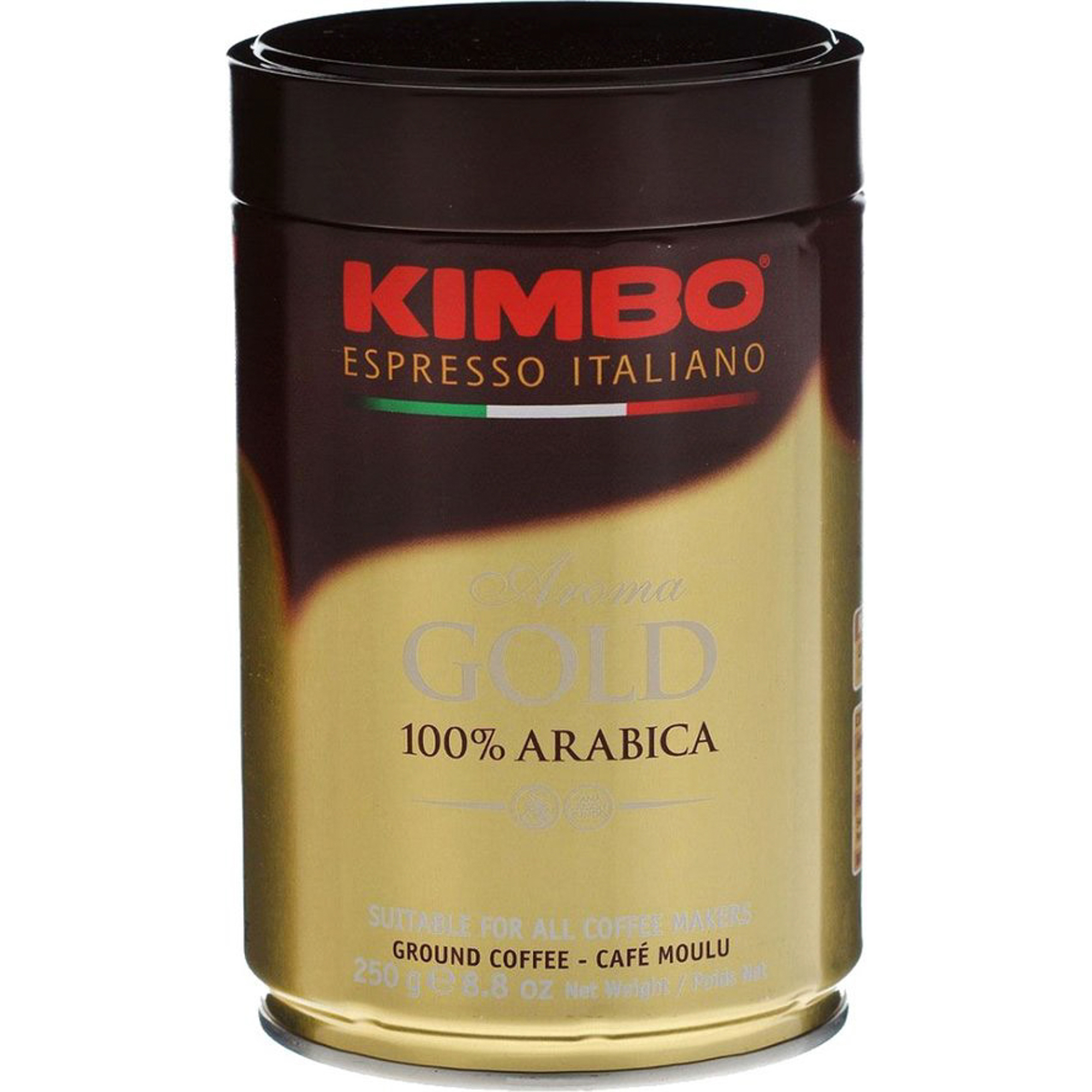 Кофе молотый Kimbo Aroma Gold 100% Arabica кофе молотый 250 г (ж/б) кофе в зернах kimbo aroma gold 100% arabica 250 г