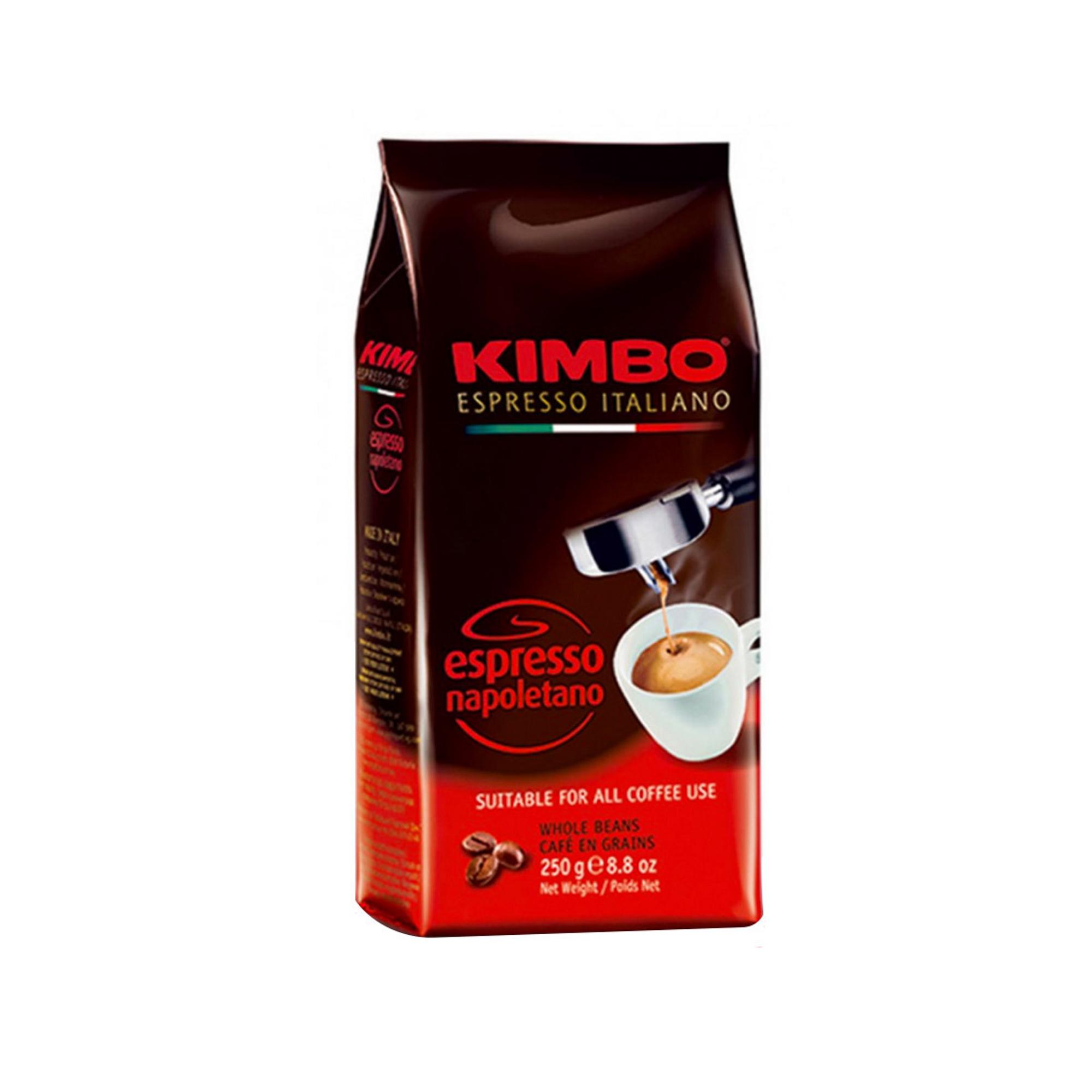 Кофе в зернах Kimbo Espresso Napoletano 250 г кофе в зернах kimbo espresso bar prestige 1000