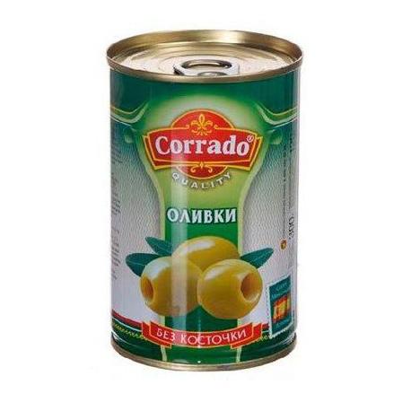 Оливки Corrado без косточки 300 г