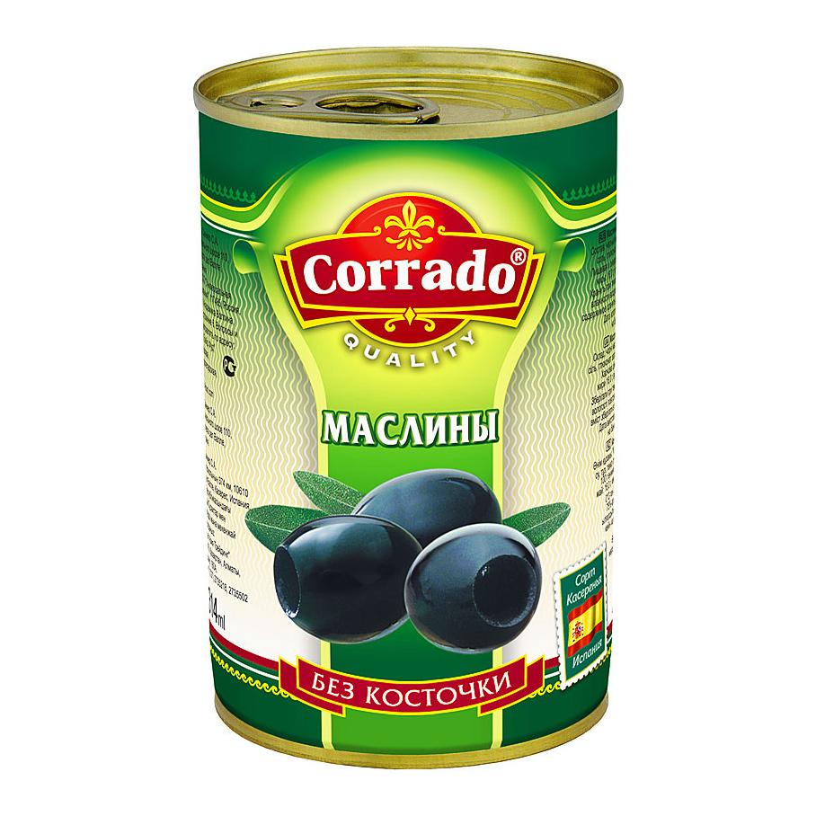 Маслины Corrado без косточки 300 г