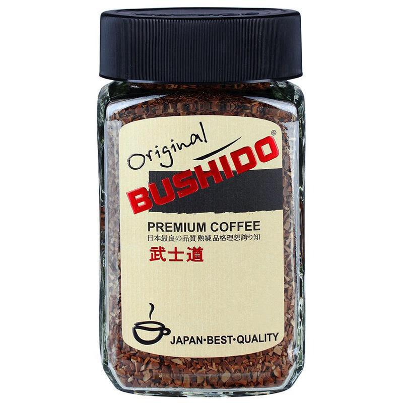 Кофе растворимый Bushido Original 50 г