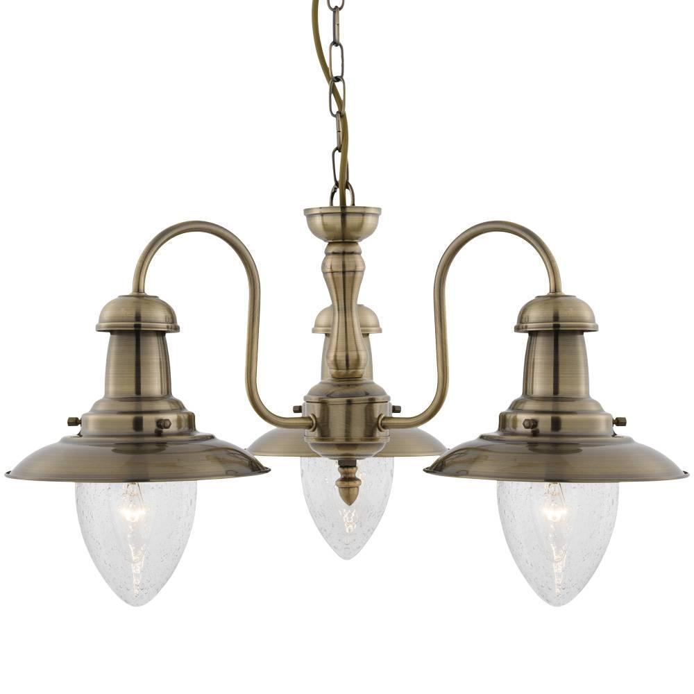 Подвесная люстра Arte Lamp Fisherman A5518LM-3AB подвесная люстра arte lamp a6905lm 3ab