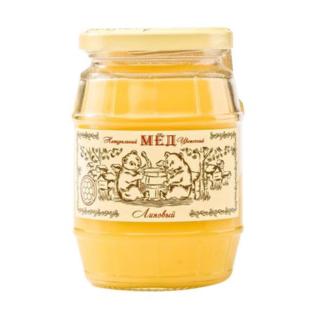 Мёд натуральный Медовая Долина липовый 480 г