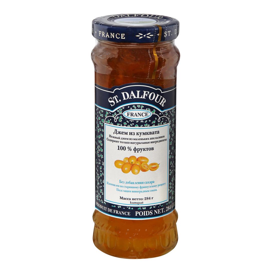 Джем St.Dalfour Кумкват 284 г апельсиновый мармелад шикарный апельсиновый мармеладный джем 10 унций 284 г