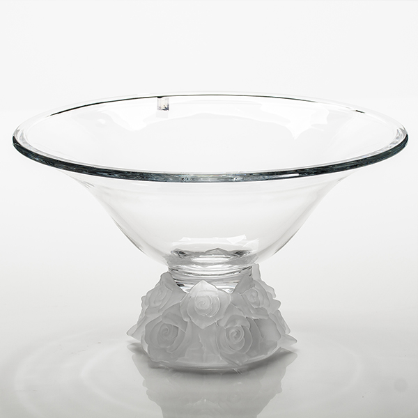 Ваза для фруктов Crystalite Bohemia Роза Фрост 35,5 см подсвечник crystalite bohemia роза 16 5 см