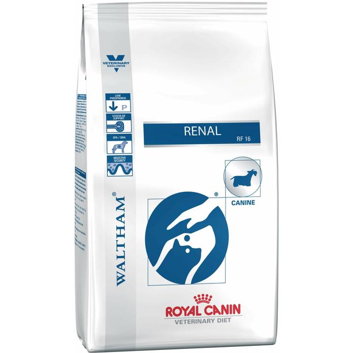 Корм для собак Royal Canin Renal RF16 при заболеваниях почек 2 кг