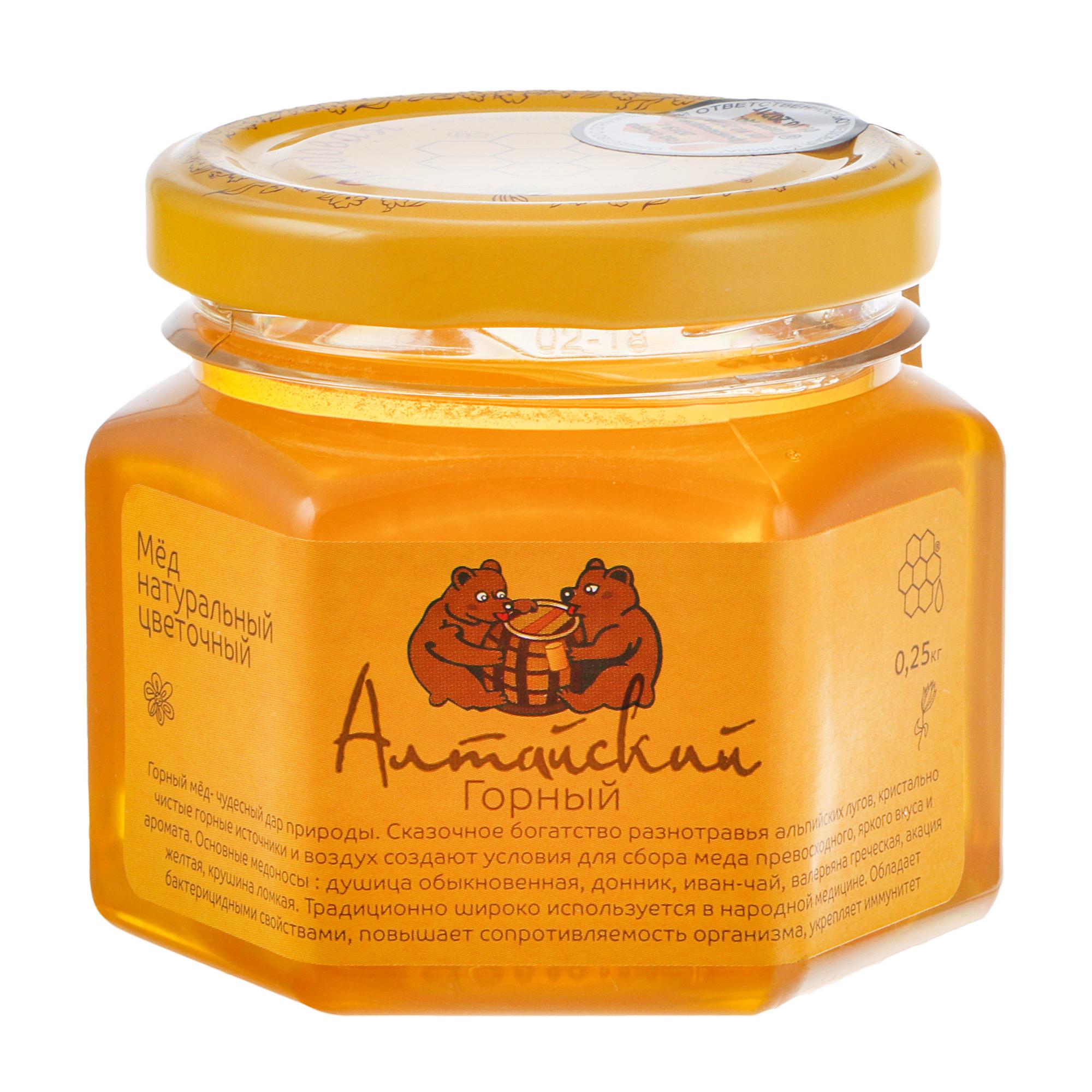 Мед Пчелиная аптека алтайский 250 г