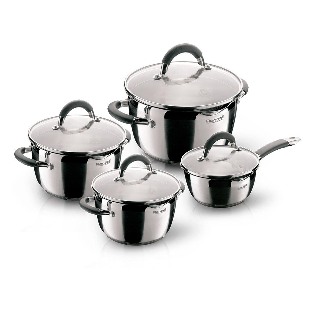 Набор посуды Rondell Flamme 8 предметов набор посуды werner ingrid 8 предметов