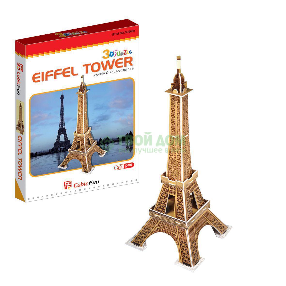 3D-пазл CubicFun Эйфелева башня (S3006)