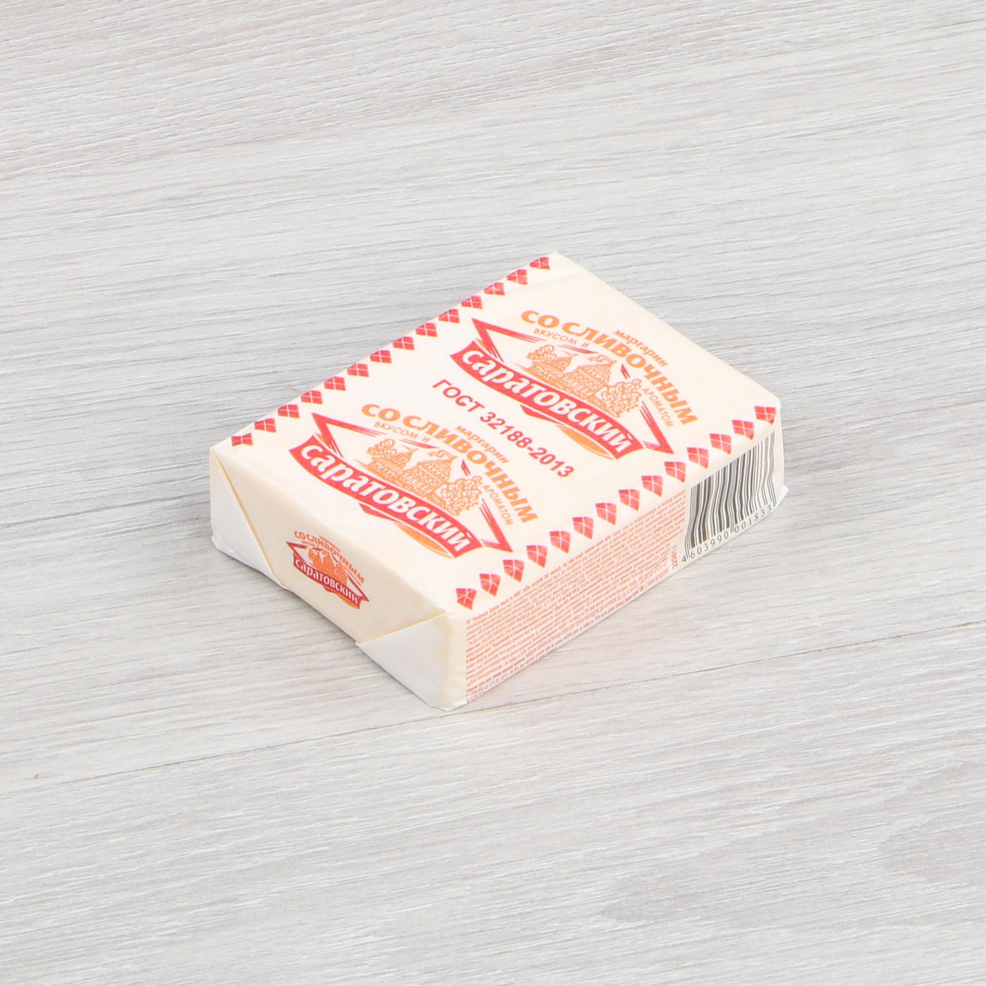 Маргарин Саратовский сливочный 60% 180 г фото