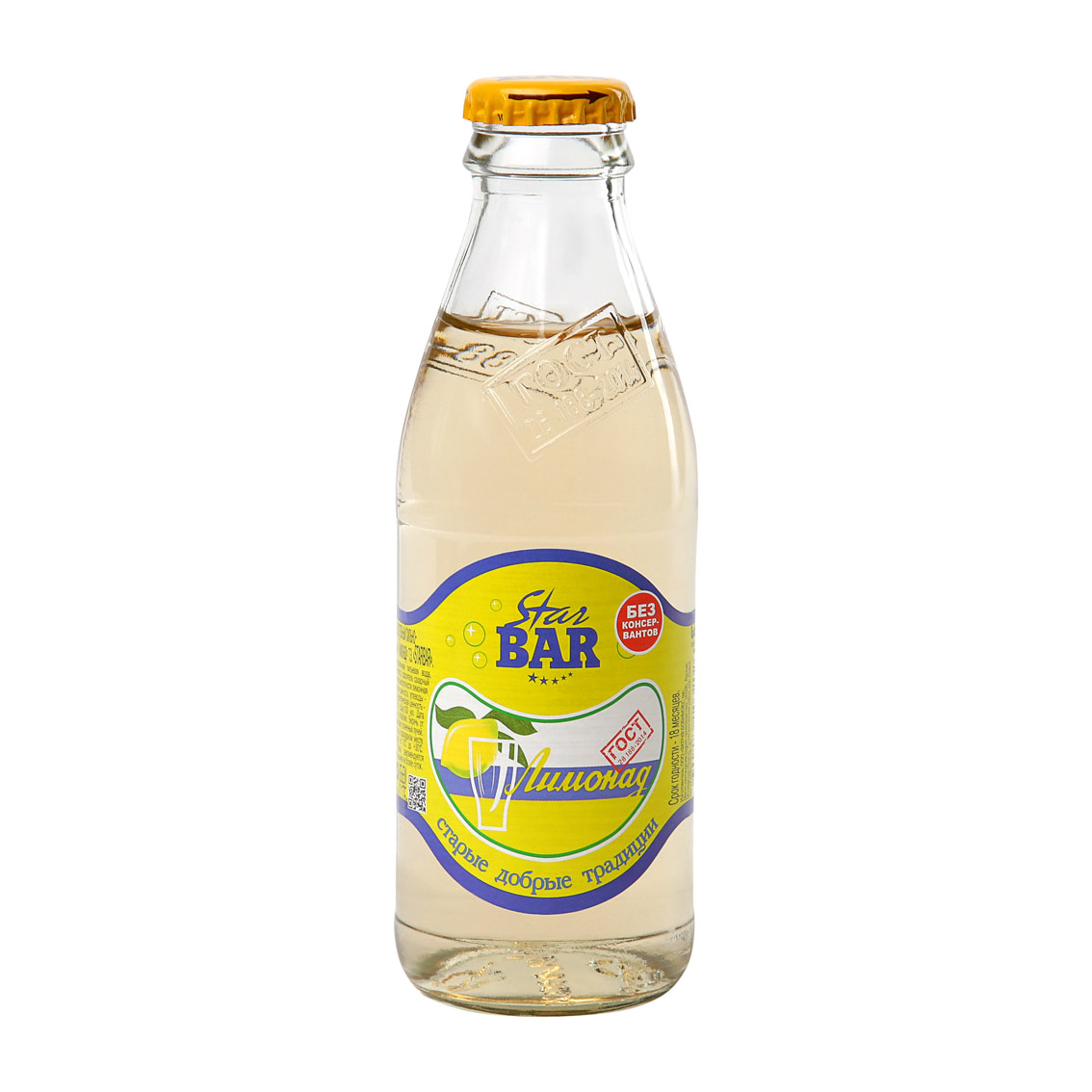 Напиток газированный Star Bar Лимонад 175 мл star bar лимонад тархун 6 шт по 0 175 л