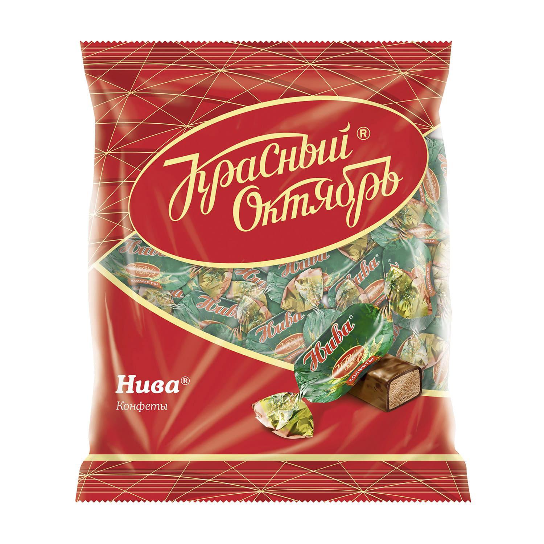 Конфеты Красный Октябрь Нива 250 г недорого