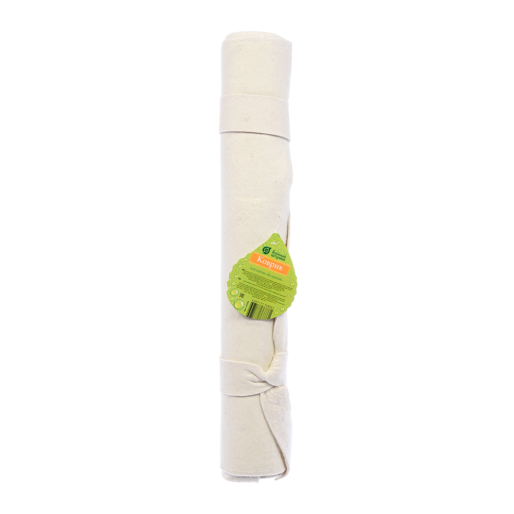 Коврик для сауны 50*150 см Большой Банные штучки, войлок 100% / 5 коврик для сауны банные штучки 41002