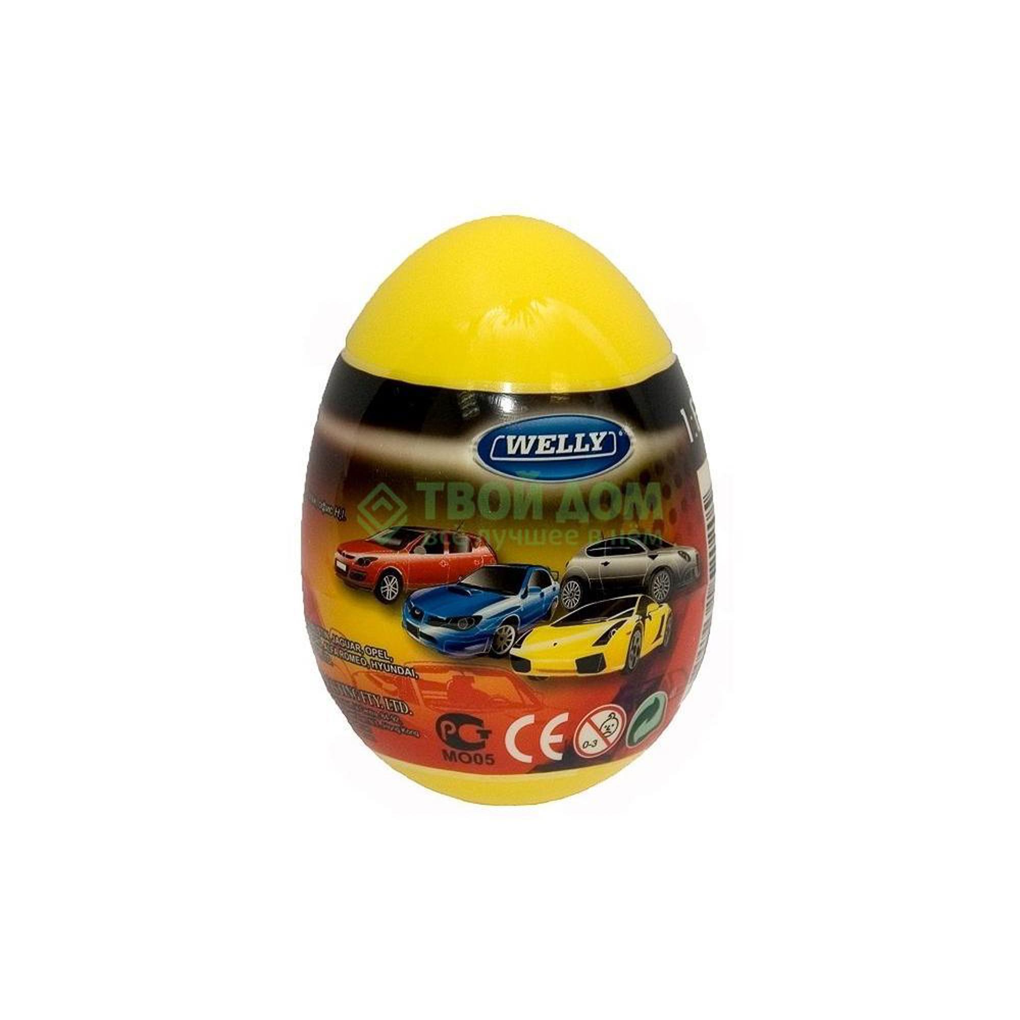 Машинка Welly Игр модель машины 1-60 яйцо-сюрприз асс 52020E.