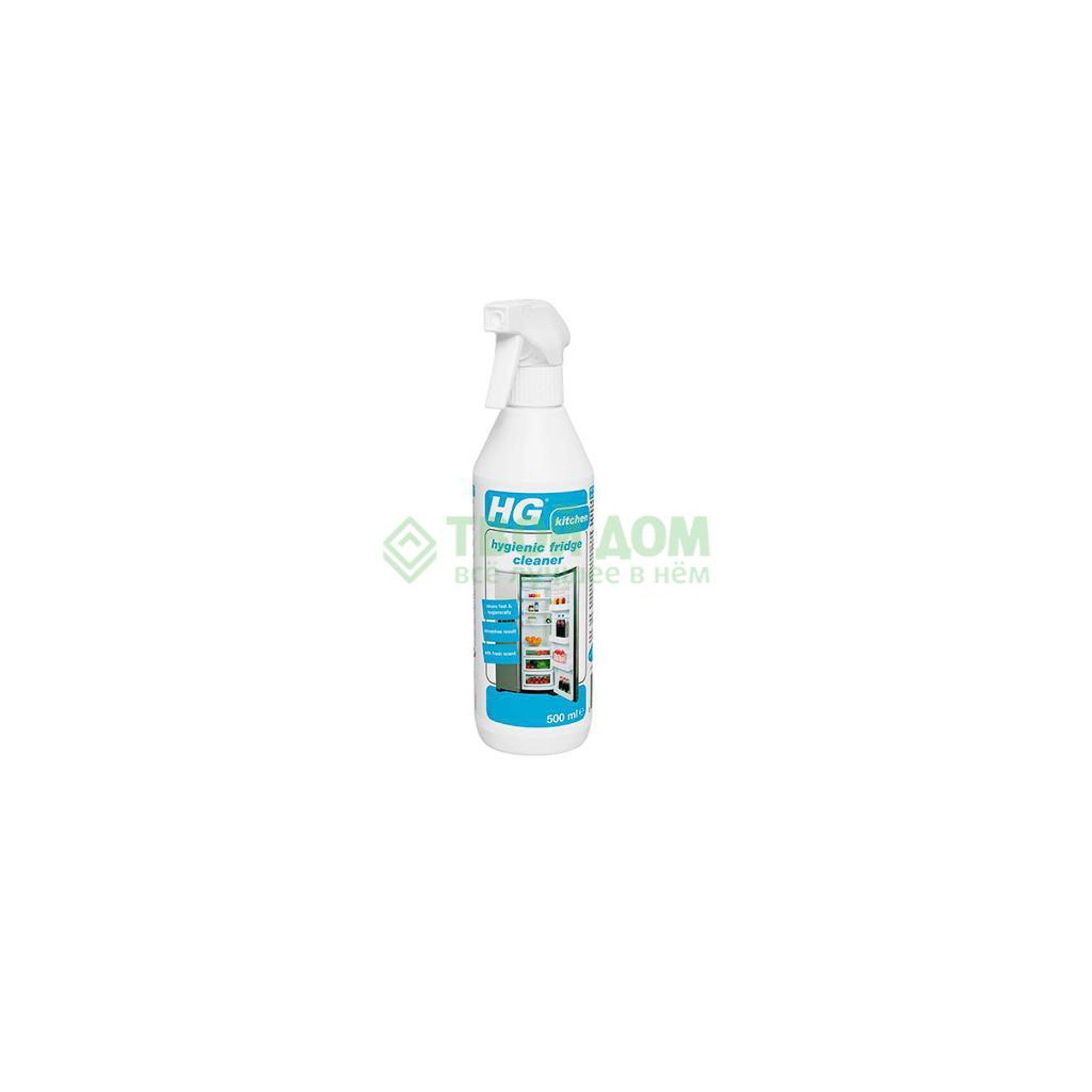 Фото - Чистящее средство HG для очистки холодильника 500 мл жидкость hg для гигиеничной очистки холодильника 500 мл