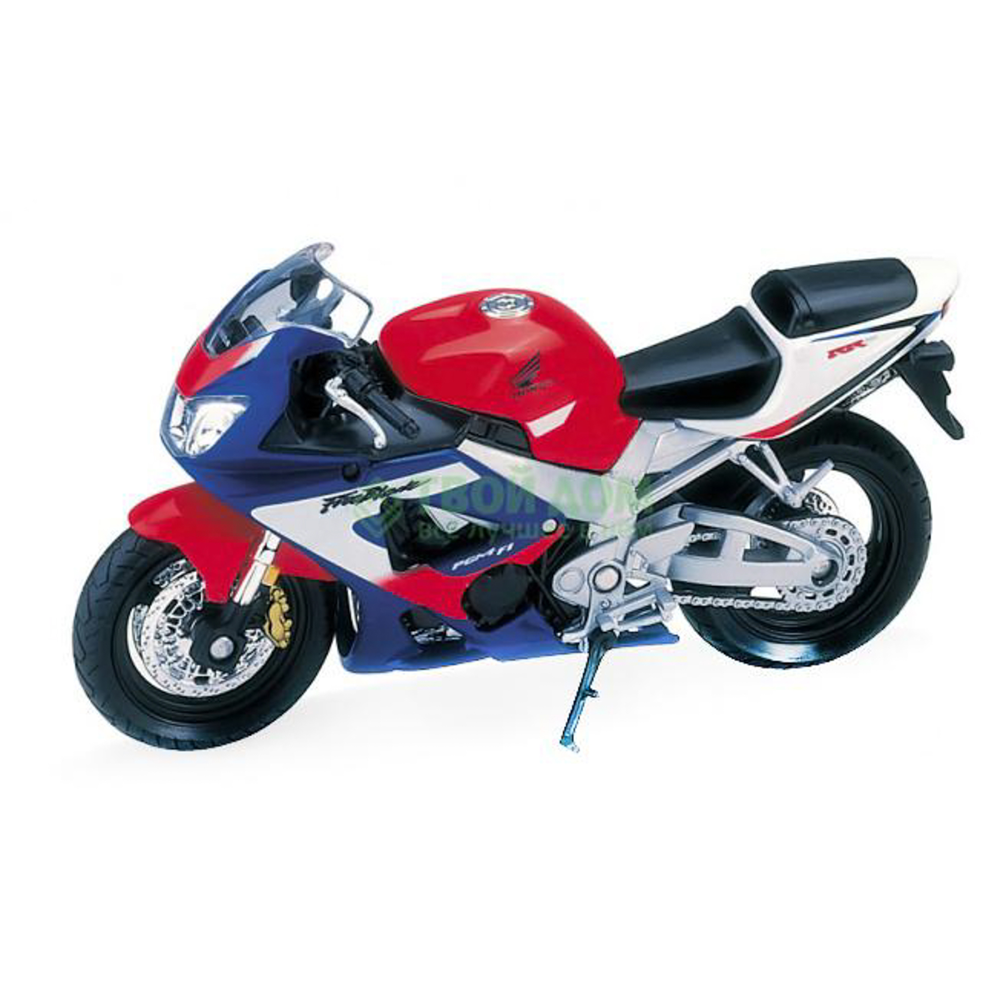 Мотоциклы Welly 1:18 Motos Honda CBR900RR Fireblade (12164)