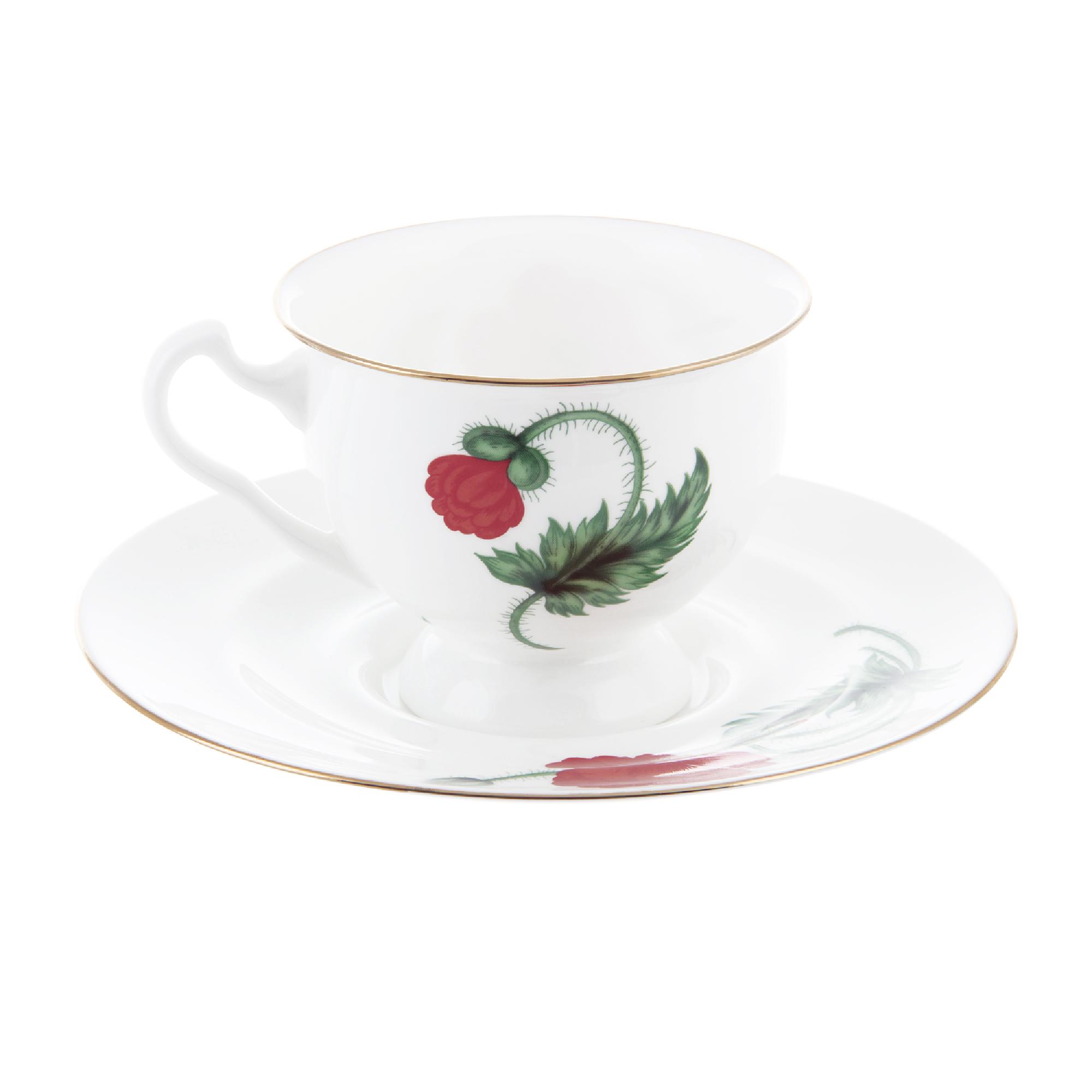 Чашка с блюдцем чайная айседора кардинал Ифз