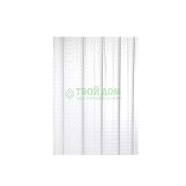 Купить Штора для ванной комнаты Bacchetta Pixel 180X200 см (40102725000/102725000), штора для ванной комнаты, Италия, белый, винил