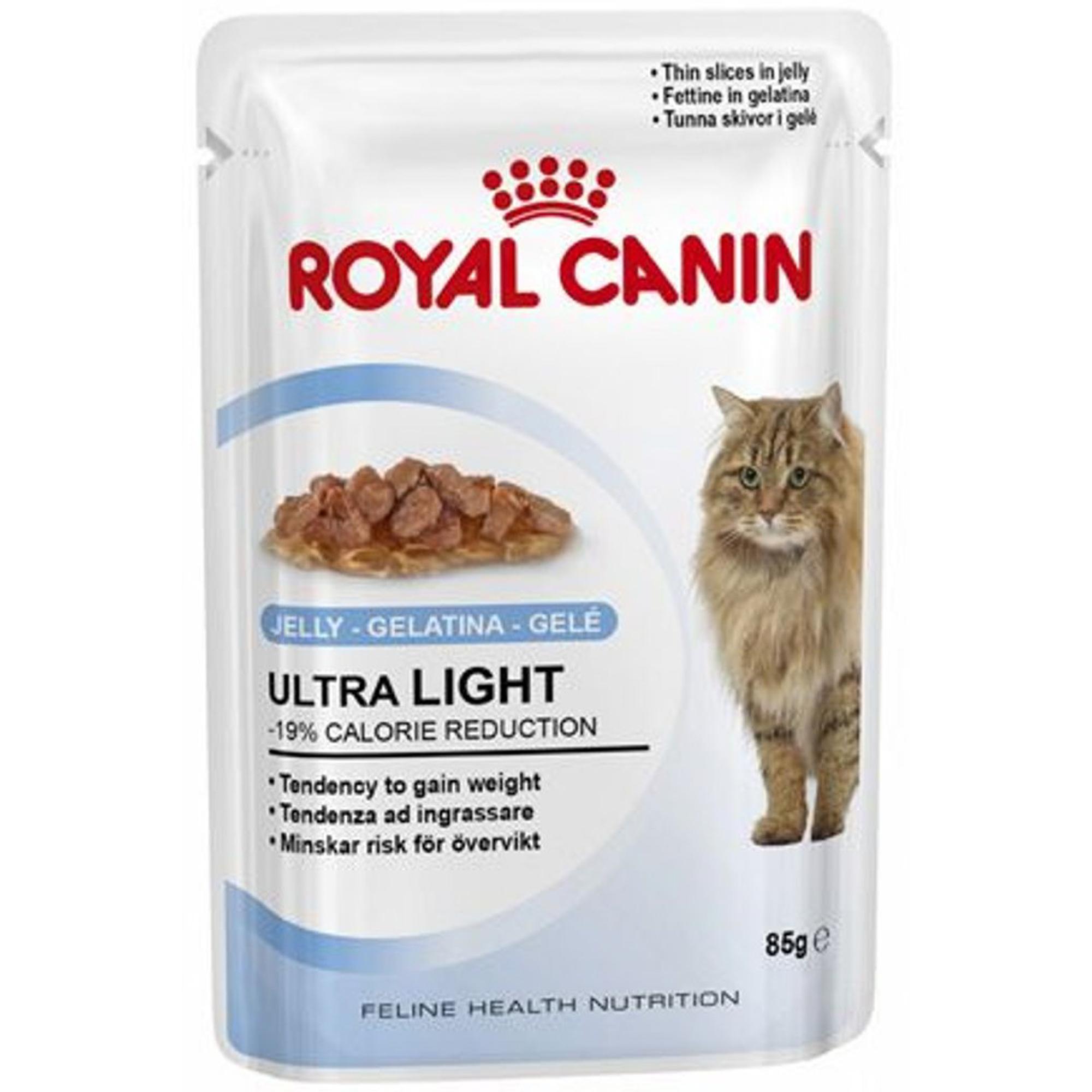 Корм для кошек ROYAL CANIN Ultra Light мясо 85г.