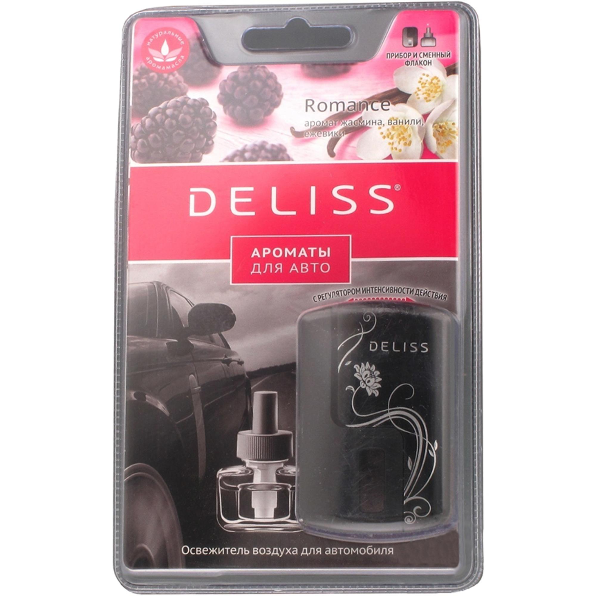 Освежитель воздуха Deliss Romance комплект 8 мл