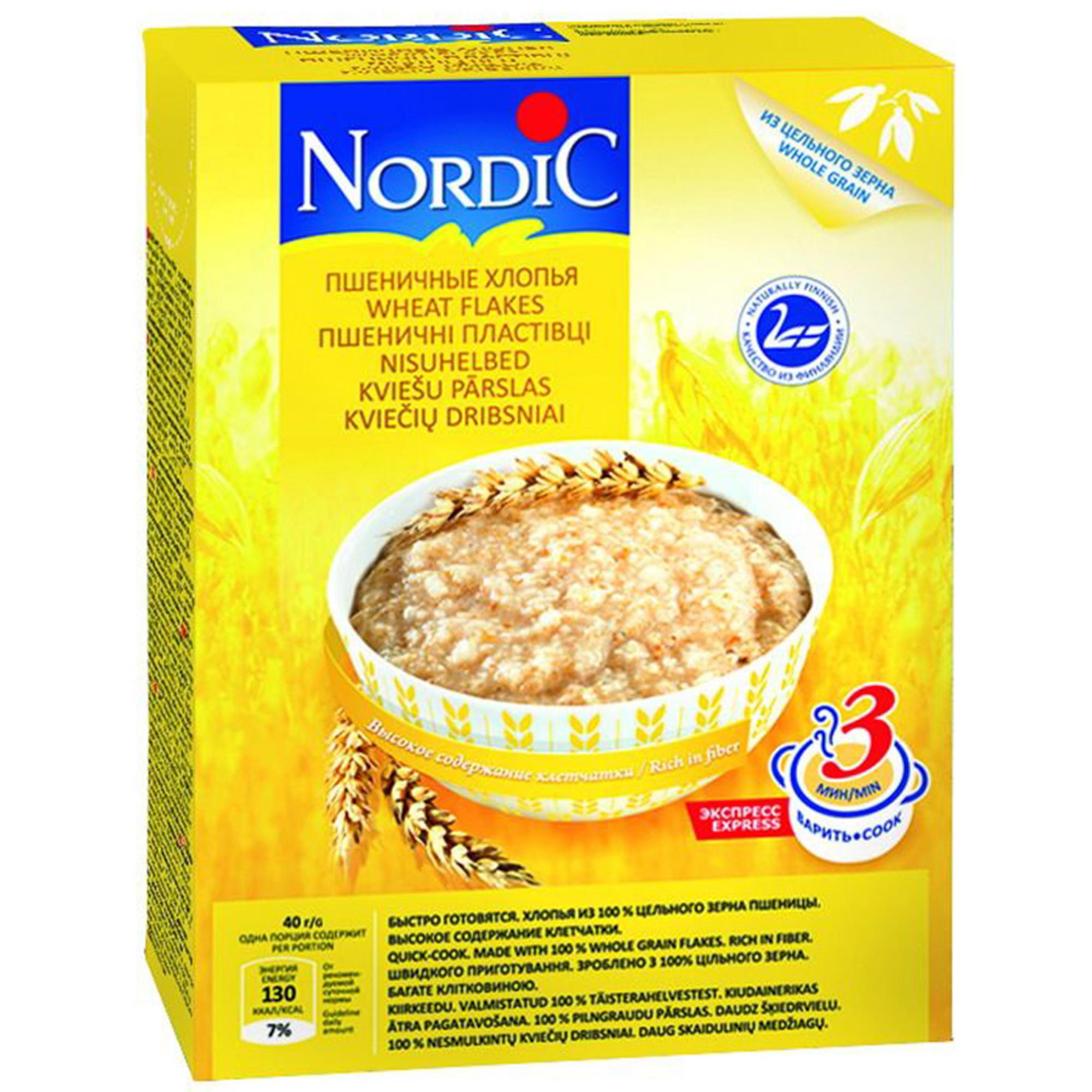 Хлопья Nordic пшеничные 600 г