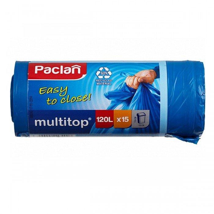 Фото - Мешки для мусора Paclan Multitop 60 л 20 шт аквабрайт вп 20 м л 1 шт