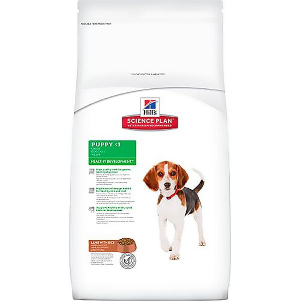 Корм для щенков HILL'S Science Plan ягненок рис 12 кг.