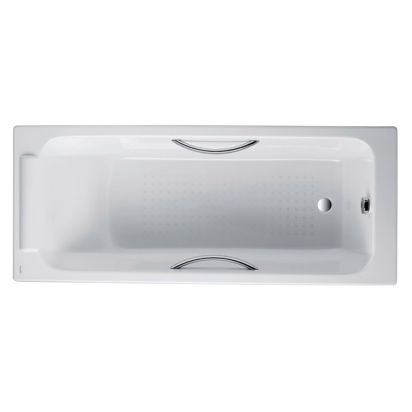 Купить Чугунная ванна Jacob Delafon Parallel 150x70 см, Франция, белый, чугун