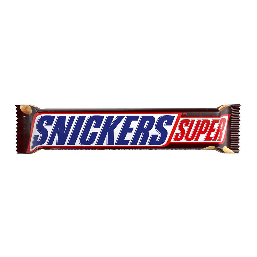 Шоколадный батончик Snickers Super 95 г фото
