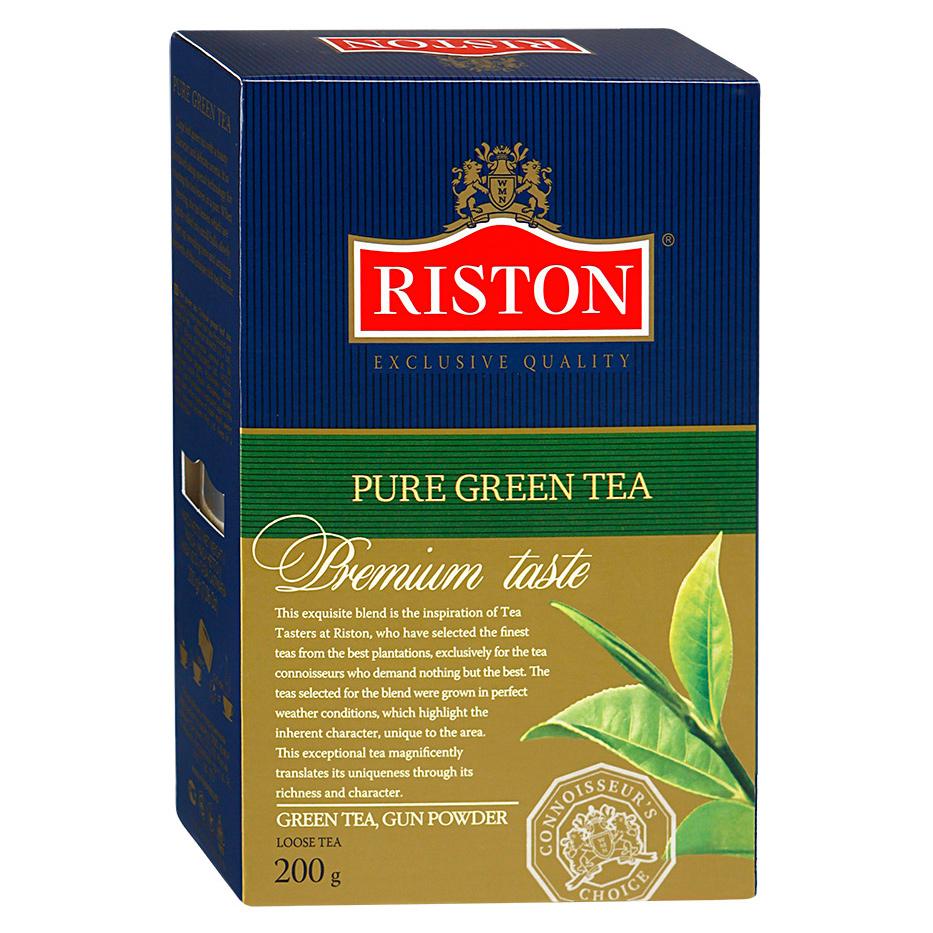 Чай зеленый Riston Pure Green Tea листовой 200 г