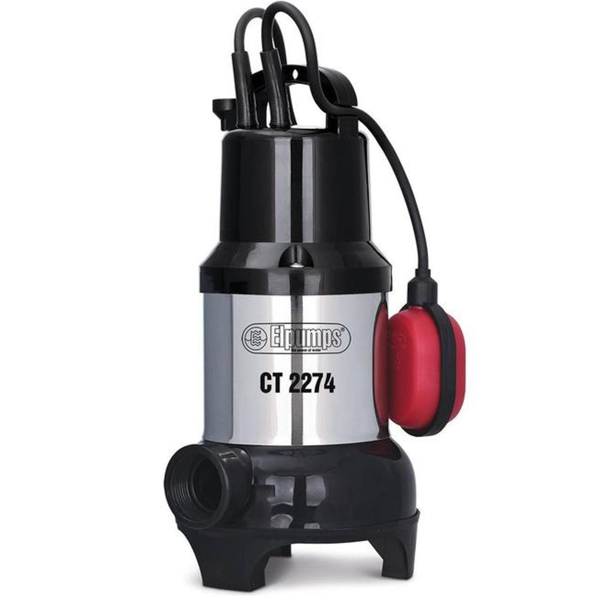 Насос дренажный для грязной/чистой воды Elpumps ct2274 насос elpumps bt 5877 k inox