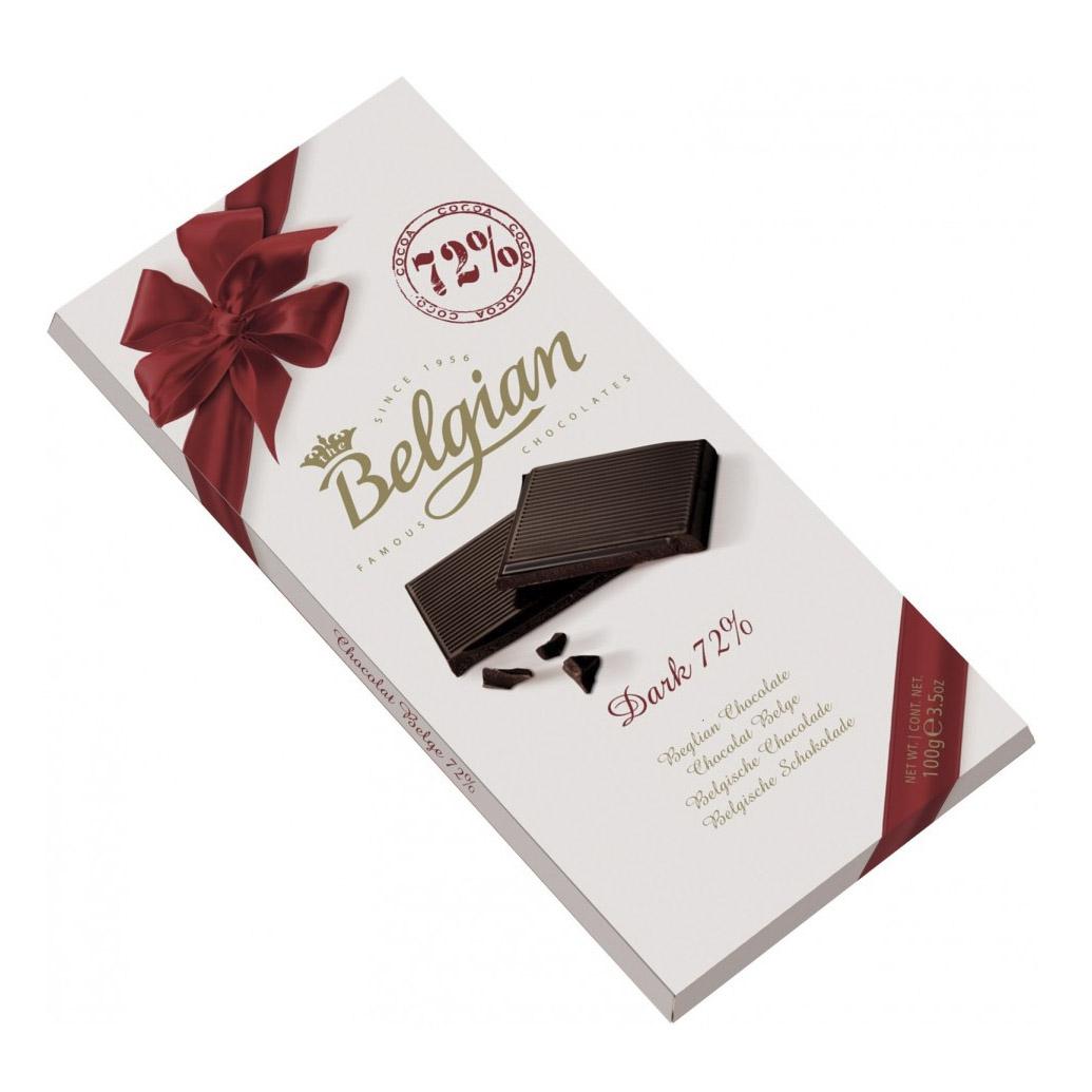 шоколад the belgian горький 72% 100 г Шоколад The Belgian Bitter Chocolate 72% 100 г